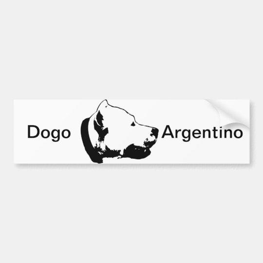 Dogo's Bumper Sticker