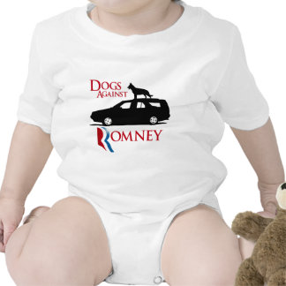 Dogs Against Romney -.png Baby Bodysuits