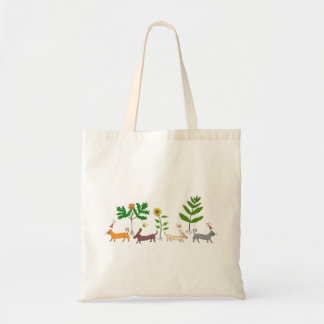 Dogs and Cats and Plants Tote Bag