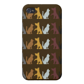 Dogs and Cats Case For iPhone 4