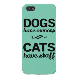 Dogs and Cats iPhone 5/5S Cases