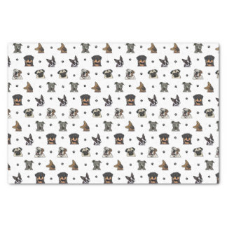 Dogs and Paws Tissue Paper