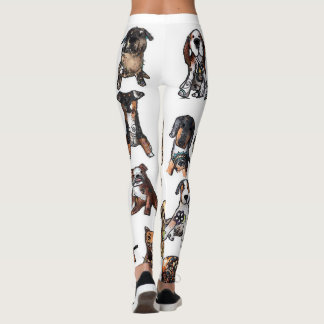 Dogs and some other friends leggings