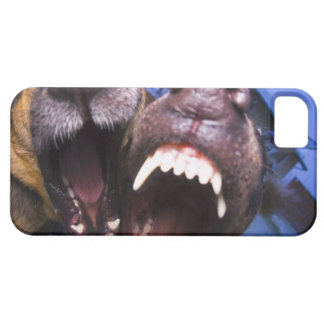 Dogs barking iPhone 5 case