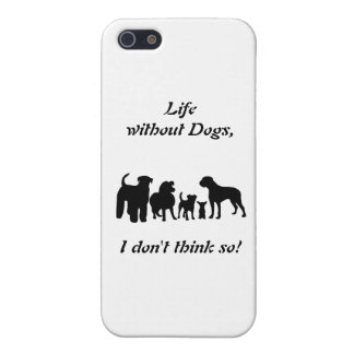 Dogs breed group black silhouette iphone 5C case