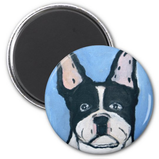 dogs by eric ginsburg 6 cm round magnet