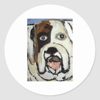 dogs by eric ginsburg sticker