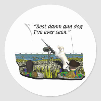 Dogs - Canine - Sporting Breeds Round Sticker