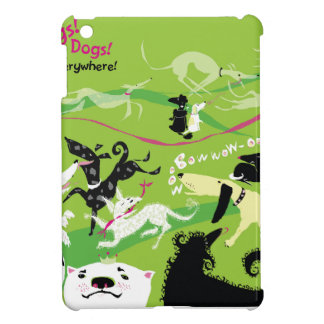 Dogs, Dogs, Everywhere! iPad Mini Cover