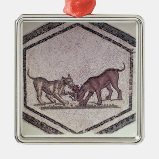 Dogs Fighting for a Bird, Roman, 2nd-3rd century ( Christmas Ornament