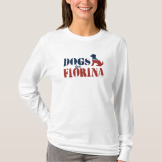 Dogs for Carly Fiorina T-Shirt