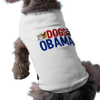 Dogs for Obama Sleeveless Dog Shirt