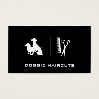 Dogs | Grooming Business Card