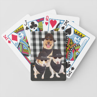 Dogs in Black Card Deck