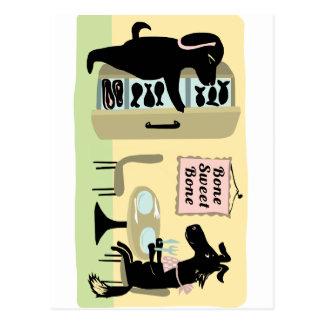 Dog's Kitchen Postcard