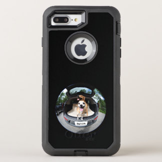 Dog's Life Fish-eye Lens Cute Funny OtterBox Defender iPhone 8 Plus/7 Plus Case