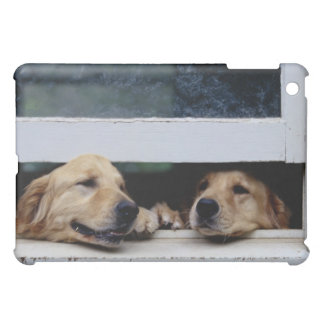 Dogs Looking Out a Window Cover For The iPad Mini