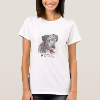 #dogs marley moo T-Shirt