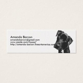 Dogs Mini Business Card