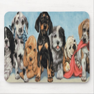 Dogs Mouse Pad