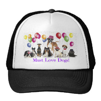 dogs not for profit fundraising hats