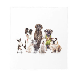 Dogs Notepad