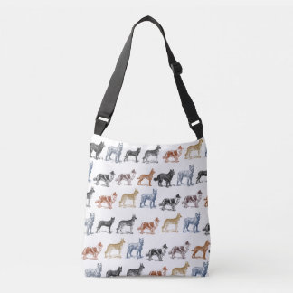 Dogs Of All Kinds Crossbody Bag