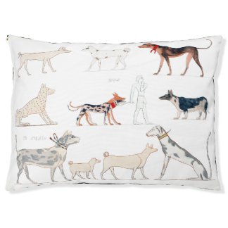 Dogs of Ancient Egypt Pet Bed