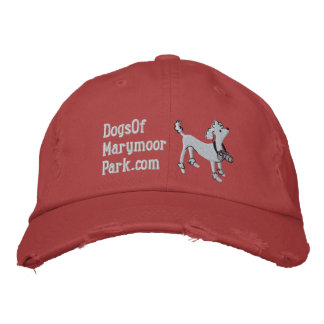 Dogs of Marymoor hat - white