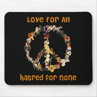 Dogs Of Peace Mouse Mat
