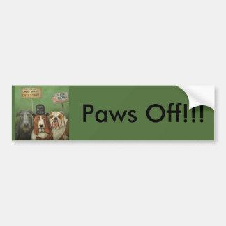 Dogs On Strike Bumper Sticker