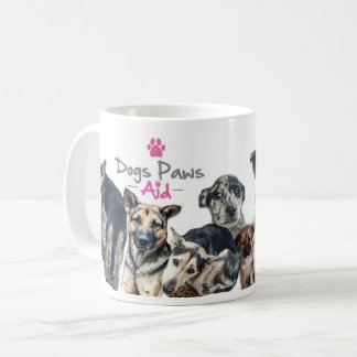 Dogs Paws Aid Mug