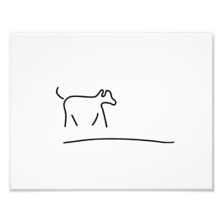 dogs play domestic animal photo print