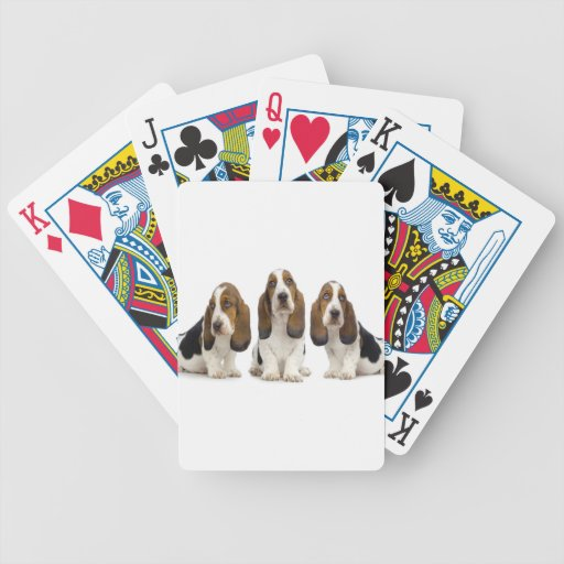 dogs bicycle poker cards