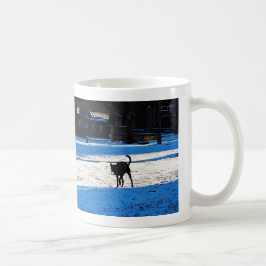 Dogs Playing Coffee Mug