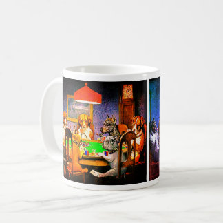 Dogs Playing Poker A Friend In Need Coffee Mug