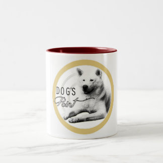 Dog's point - Tazza Two-Tone Coffee Mug