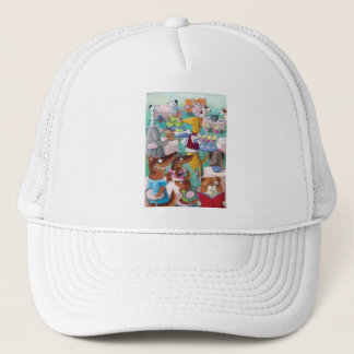 Dogs Restaurant Trucker Hat