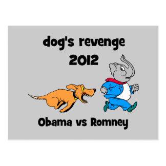 dog's revenge 2012 postcard