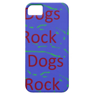 Dogs Rock Case Barely There iPhone 5 Case