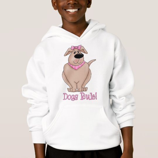 Dogs Rule Dog with PInk Bandanna Tees and Gifts