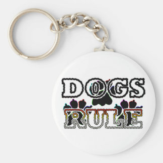 DOGS RULE KEYCHAINS
