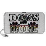DOGS RULE LAPTOP SPEAKER