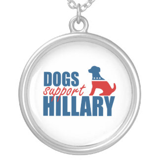 DOGS SUPPORT HILLARY PENDANTS