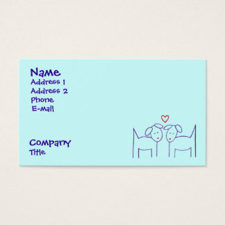 Dogs with Heart Business Card
