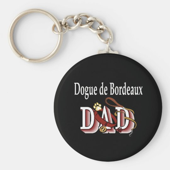 Dogue de Bordeaux dad Keychain