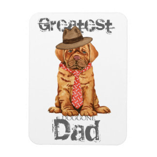 Dogue de Bordeaux Dad Magnet