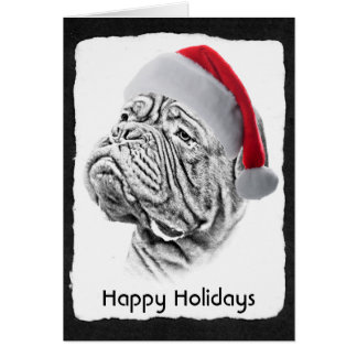 Dogue De Bordeaux - French Mastiff Card