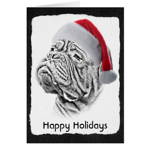 Dogue De Bordeaux - French Mastiff Greeting Card