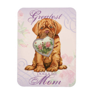 Dogue Heart Mom Magnet